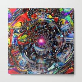 Colors of Time Metal Print