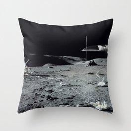 Space 1999 Eagle 2 Throw Pillow