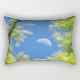 Framed Spring Moon Rectangular Pillow