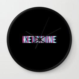 Ketamine | Psychedelic Drug K-Hole Gifts Wall Clock