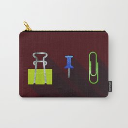 Paper Clip Tack Carry-All Pouch