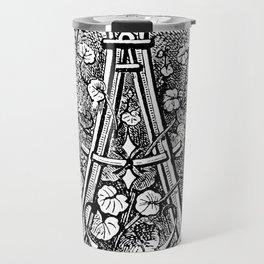 Monogram A Travel Mug