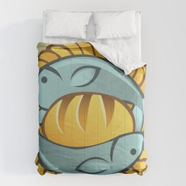Loaves and Fishes II Comforters
