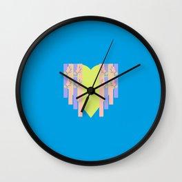 17 E=Hearty4 Wall Clock