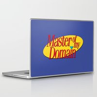 seinfeld Laptop & iPad Skins featuring Master of my domain by MadTee