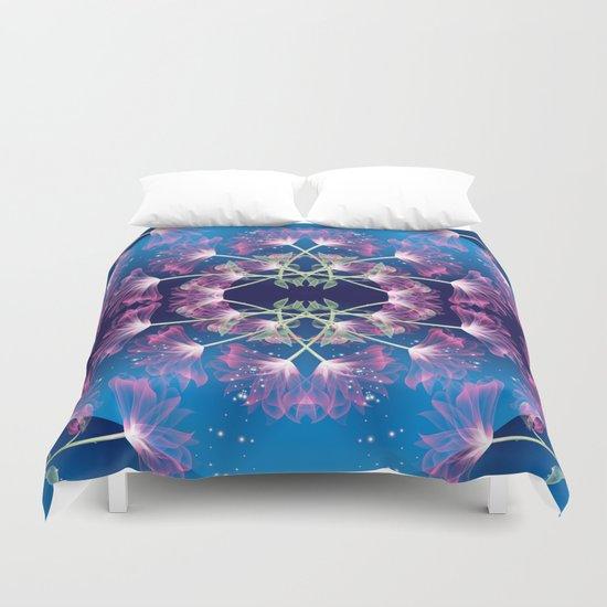 Flower Mandala v.3 Duvet Cover