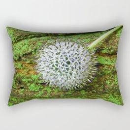 Globe Thistle. Rectangular Pillow