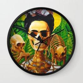 Frida vive Wall Clock