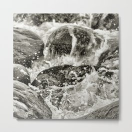 piedras azotadas por el norte de veracruz Metal Print