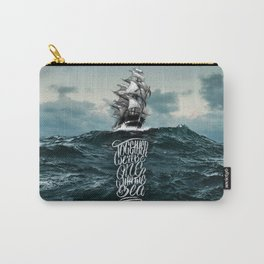 One With The Sea Carry-All Pouch