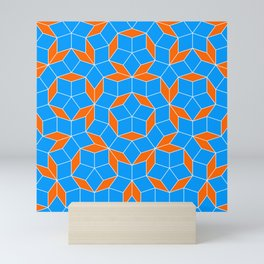 Penrose Tiling Pattern Mini Art Print
