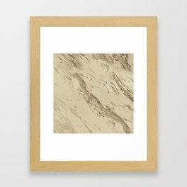 Desert Granite Framed Art Print