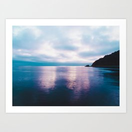 Sunset near Catalina Island Art Print