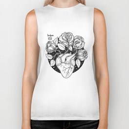 Blossom that Blooms in the Heart Biker Tank