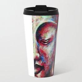 Half Buddha Face Travel Mug