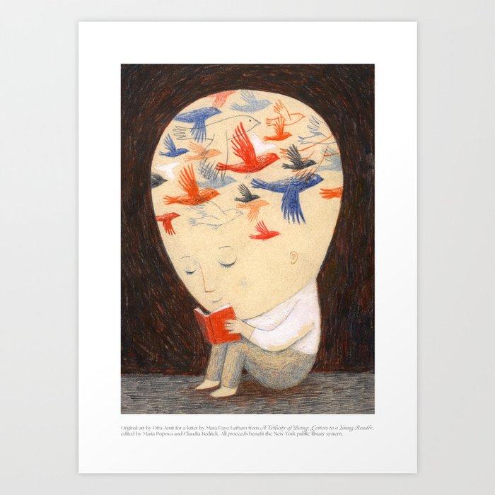 A Velocity of Being: Ofra Amit Kunstdrucke