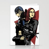 movie poster Stationery Cards featuring Movie Poster by Shop 5