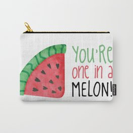 One In A Melon Carry-All Pouch