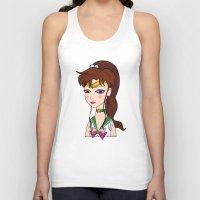 sailor jupiter Tank Tops featuring Lady Sailor Jupiter by Pendientera