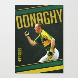 GAA Posters – Kieran Donaghy  Canvas Print