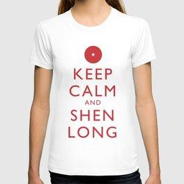 Keep Calm and Shen Long T-shirt
