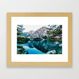 Glossy Tranqulity Framed Art Print