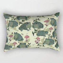 Frog Time Rectangular Pillow
