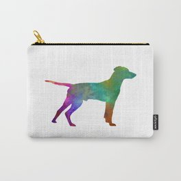 Hellenic Hound in watercolor Carry-All Pouch