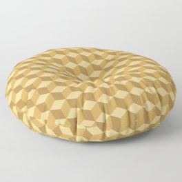 Box Stack (Gold) Floor Pillow