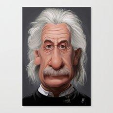 Celebrity Sunday ~ Albert Einstein Canvas Print