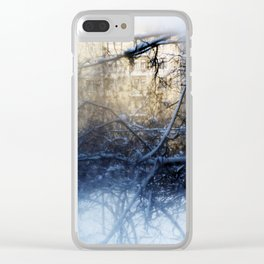 winter view Clear iPhone Case