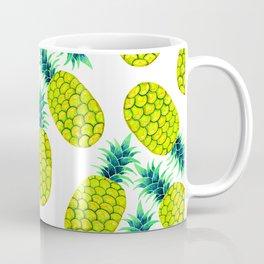 Pineapple Vibrant Yellow Coffee Mug