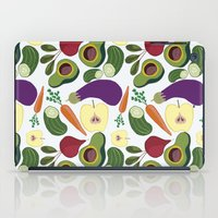 vegetables iPad Cases featuring vegetables by Aina Bestard
