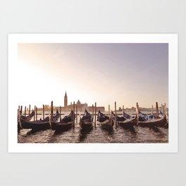 Venice Landscape  Art Print
