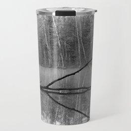 Black and White Reflections over Bluegill Bond Travel Mug