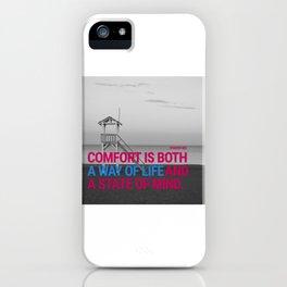 Comfort beach iPhone Case