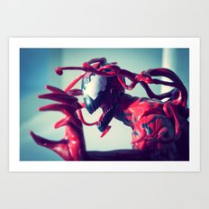 I am the ultimate insanity! Art Print