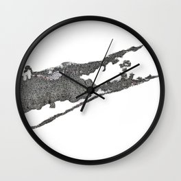 East End Map Wall Clock