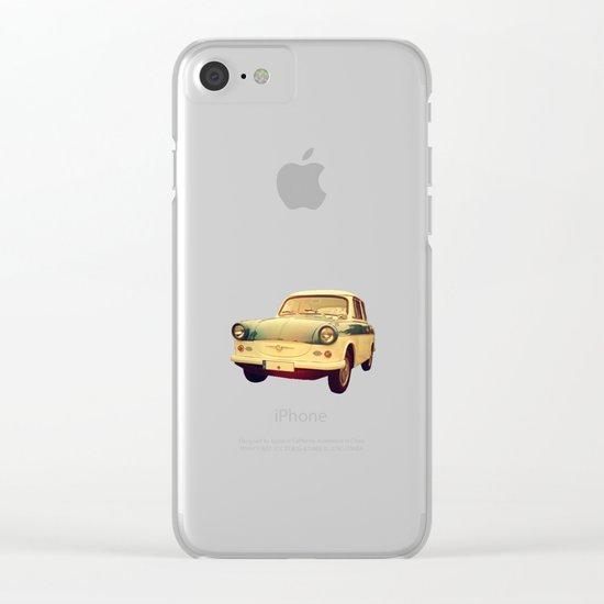 Vintage car Clear iPhone Case