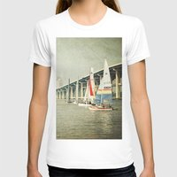 sailing T-shirts featuring Sailing by JMcCool