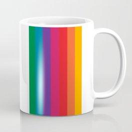 Retro Bright Rainbow - Straight Coffee Mug
