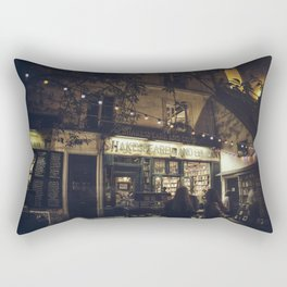 Bookstore with charm Rectangular Pillow