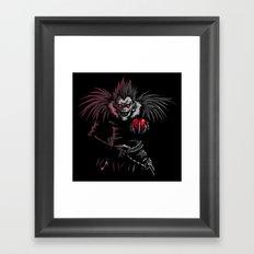 Ryuk by night Framed Art Print