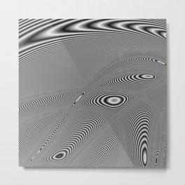 Fractal Op Art 5 Metal Print
