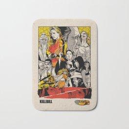 Kill Bill Movie Poster Bath Mat