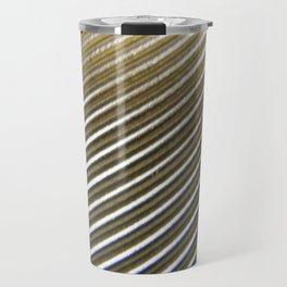 SWIRL METAL PATTERN Travel Mug