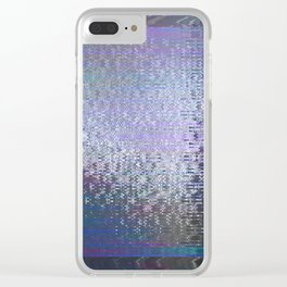 Glytch 01 Clear iPhone Case