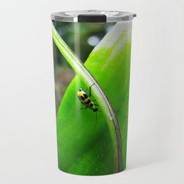 Yellow Lady Bug 0753 Travel Mug
