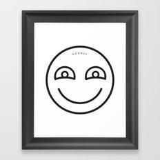 CCOOLL Smiley Framed Art Print