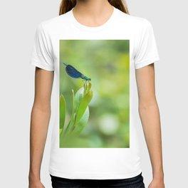 Metallic dragonfly T-shirt